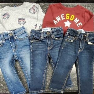 5pc Baby Boy Old Navy Lot Size 12-18mths